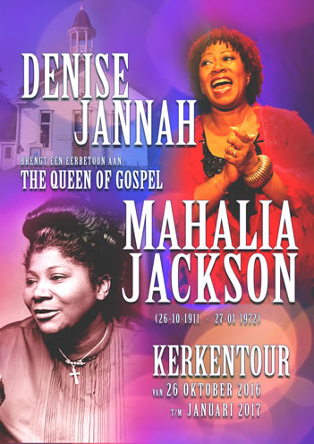 eerbetoon aan the Queen of Gospel Mahalia Jackson